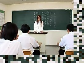 japanese teacher and student